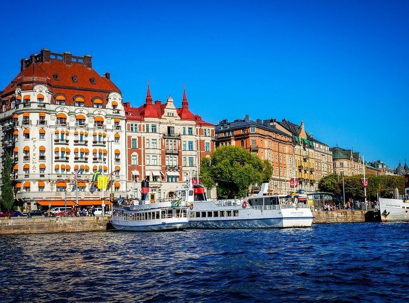 En dag i Stockholm